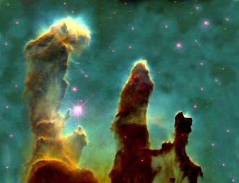 PIllars of Creation, Large Magellanic Cloud, NASA