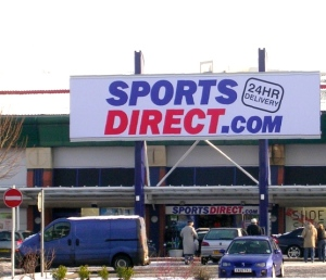 Sports Direct store in Crown Point