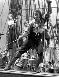 Errol Flynn as Captain Blood