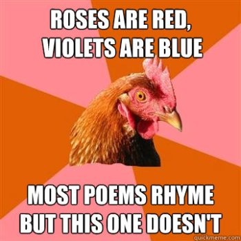Chicken rhyme