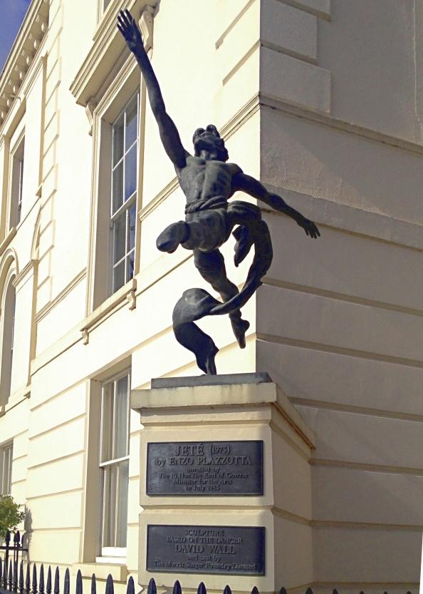 Jete - statue at Millbank, London