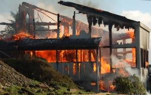 House fire momboleun